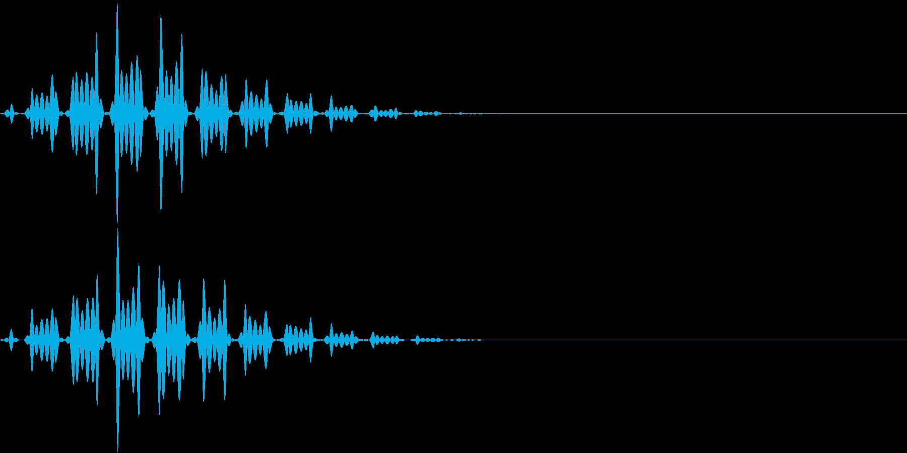 FX 幽霊の効果音 揺れる SE 2の再生済みの波形