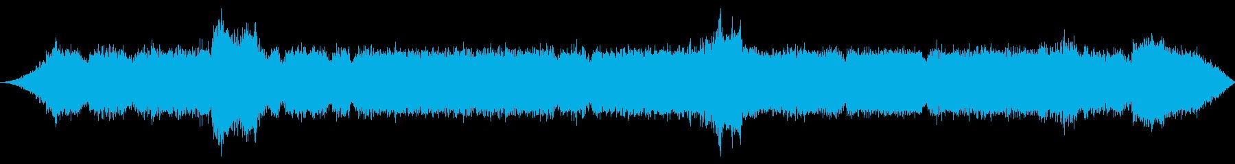 大型ツリーシュレッダーとグラインダ...の再生済みの波形