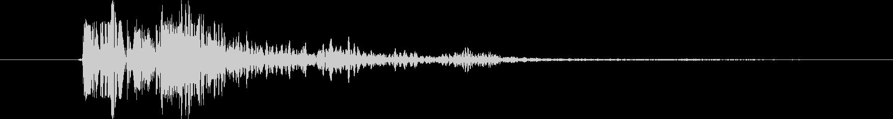 リボルバー クローズショット03の未再生の波形