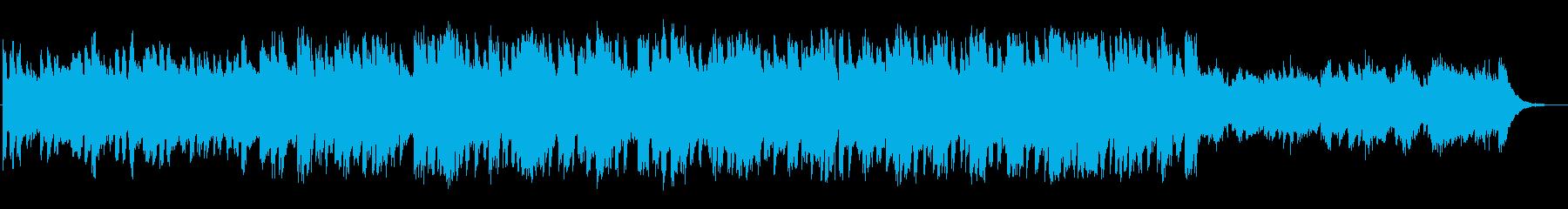 涼しげなピアノの映画BGMの再生済みの波形