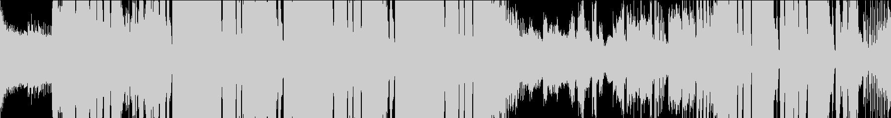 ファンクなグルーヴのループ音楽の未再生の波形