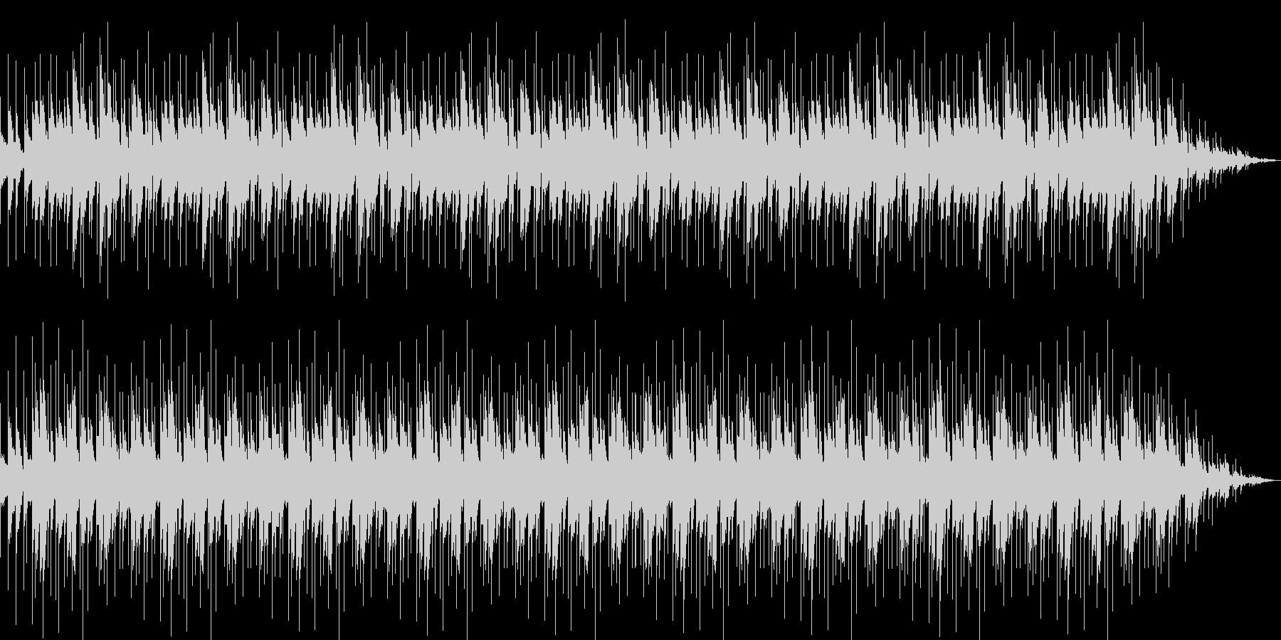 木琴を使った環境音楽の未再生の波形