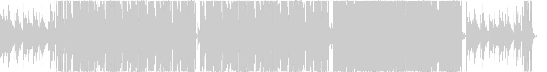 "Cool and heavy trap BGM ""heavy bass""'s unreproduced waveform"