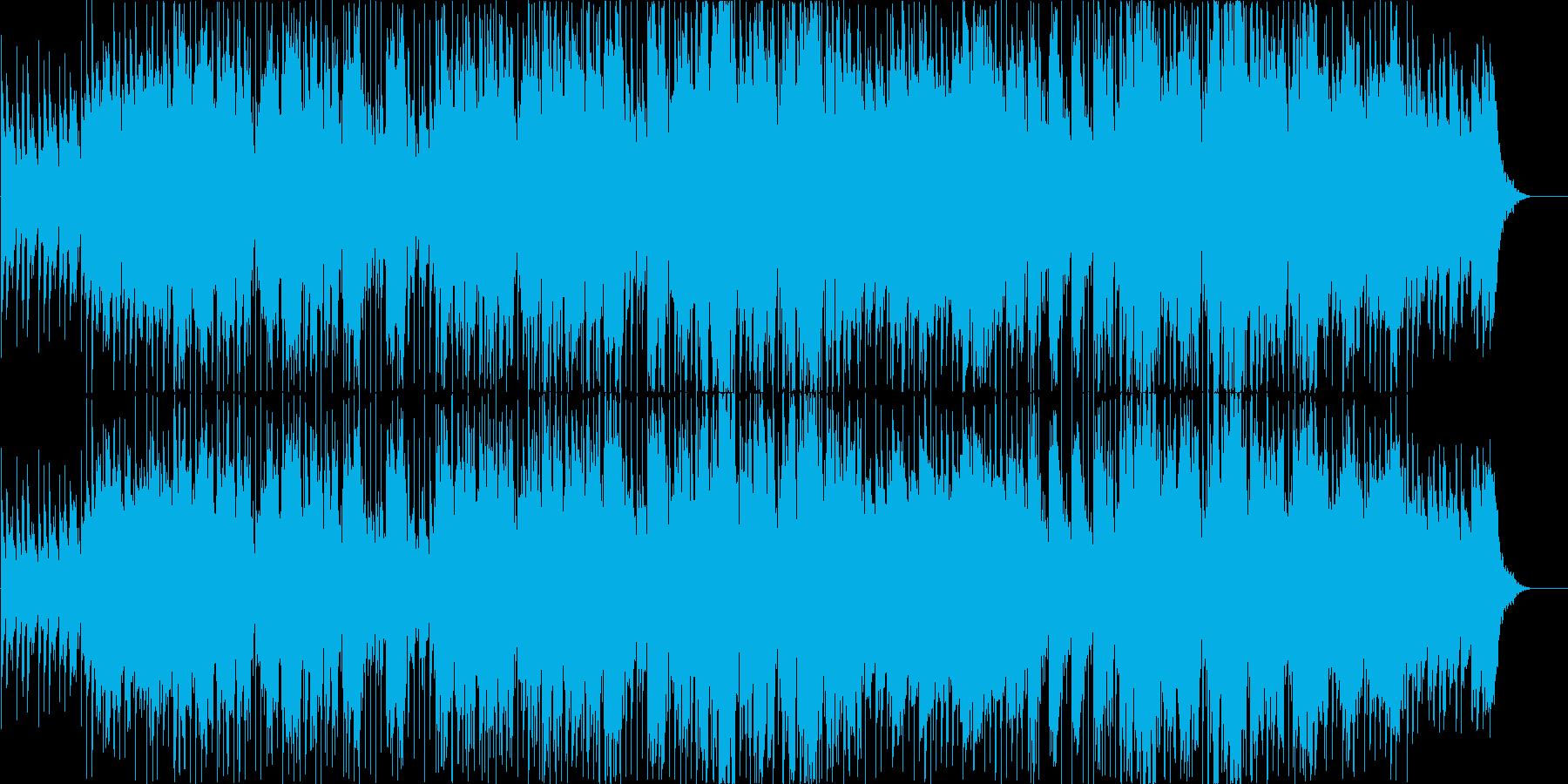 True Blueの再生済みの波形