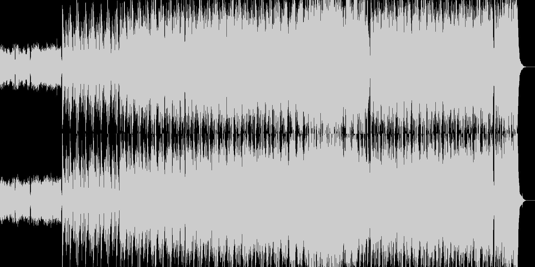 アイリッシュっぽい音楽の未再生の波形