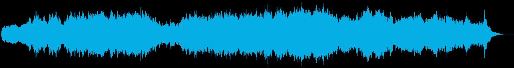 ミステリーとダークオーケストラトラックの再生済みの波形