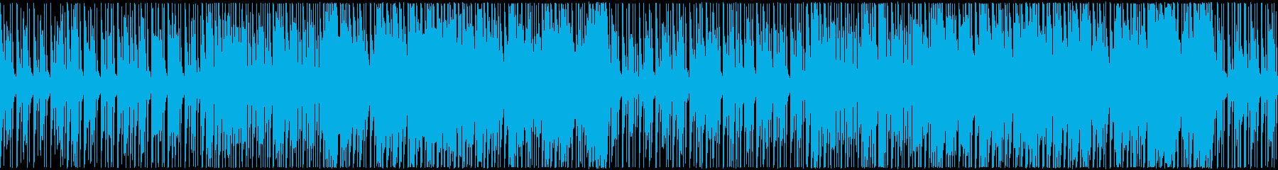 青空を感じる、爽やかな日常系BGMの再生済みの波形