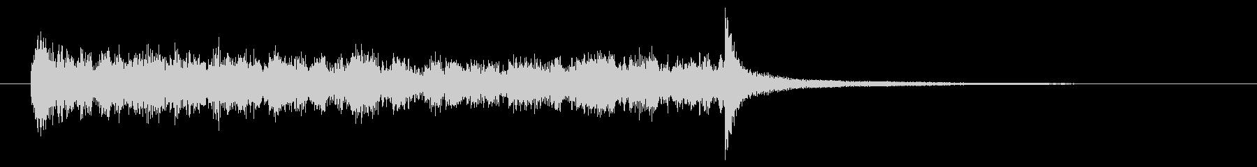 Gフラットの打楽器ティンパニロール...の未再生の波形