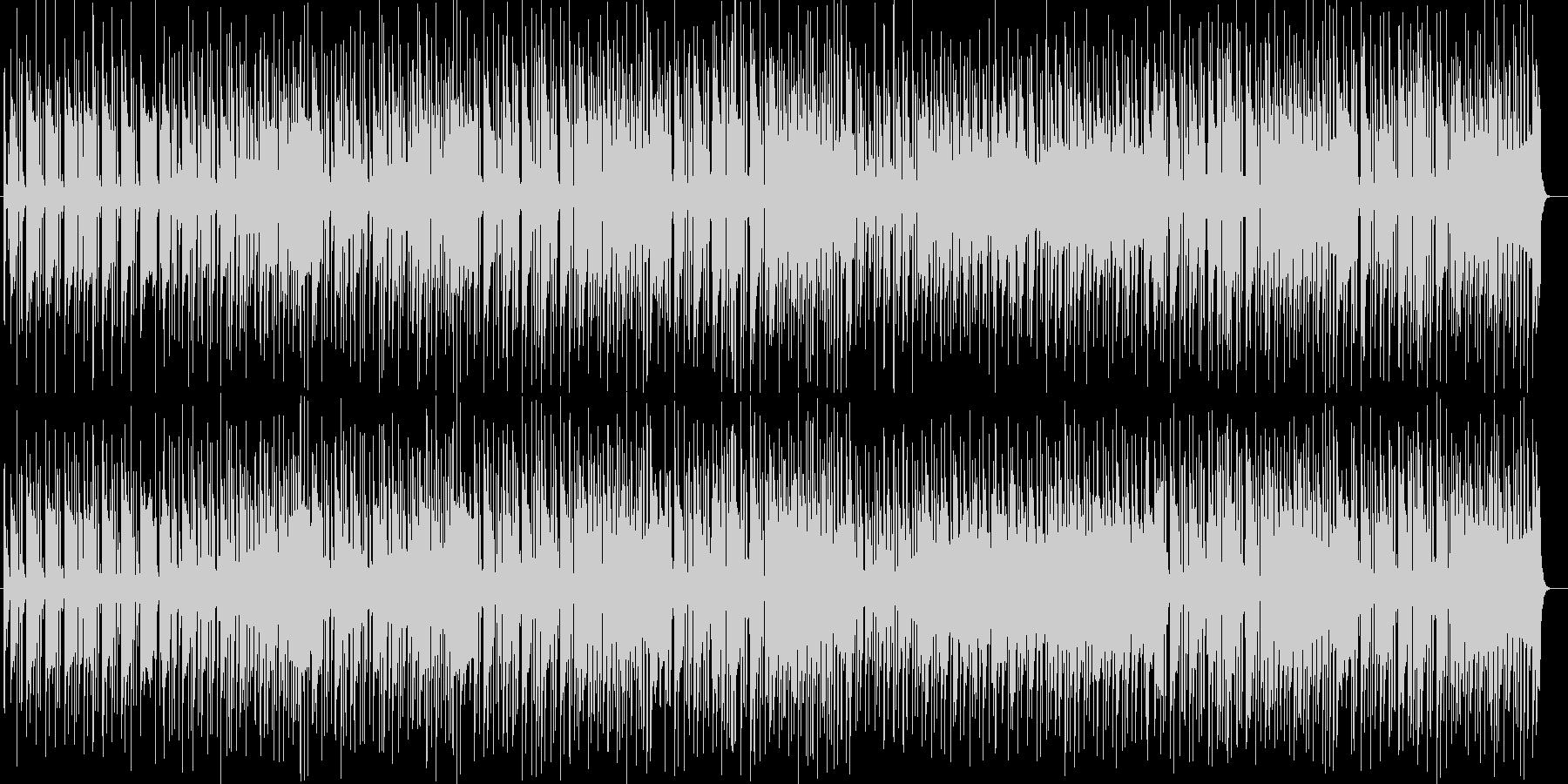 緩やかでムーディなトランペットサウンドの未再生の波形