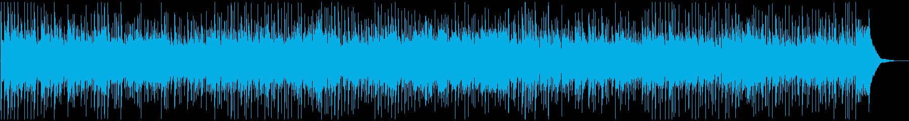 カントリー調ピアノバラードの再生済みの波形