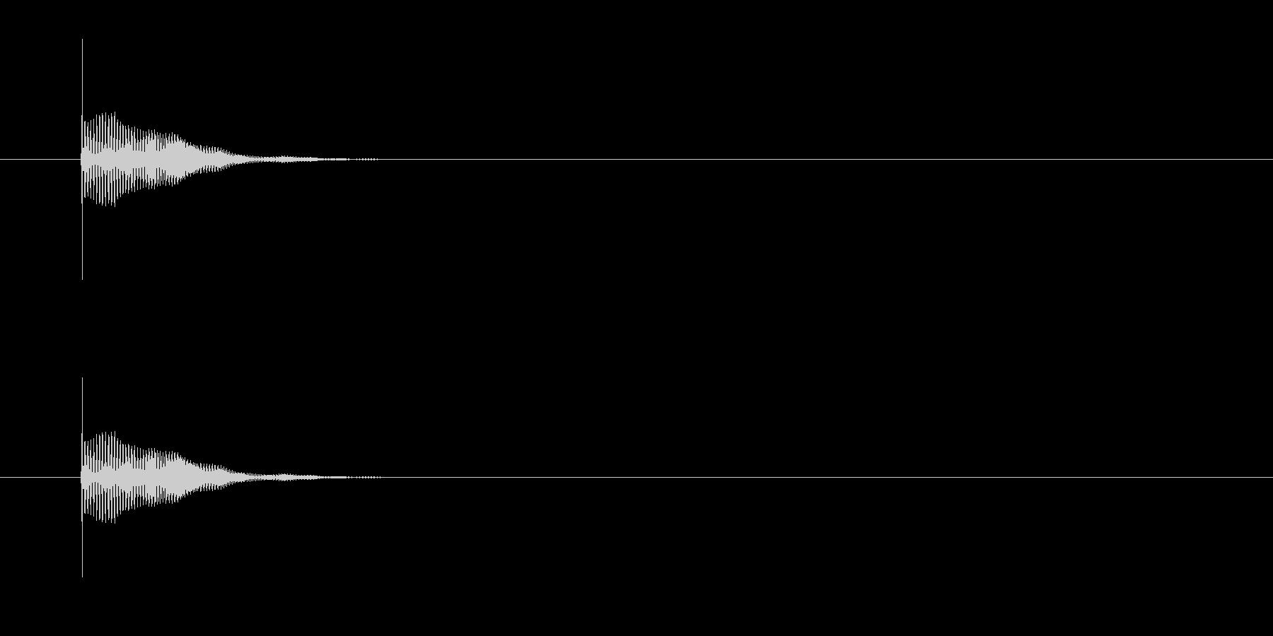 POINGコミックフレキシブルアクセントの未再生の波形