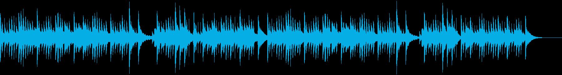 伝承歌「小山の子うさぎ」オルゴール風の再生済みの波形