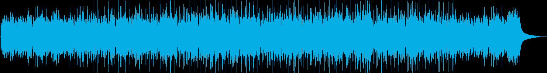 クール・ピアノ・映像・イベント用の再生済みの波形