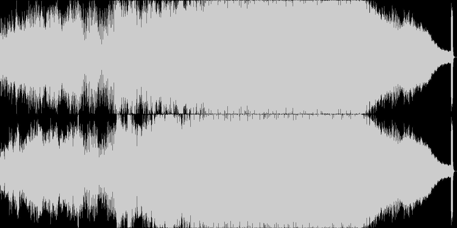 ジェネリック:映画の前後のクレジッ...の未再生の波形