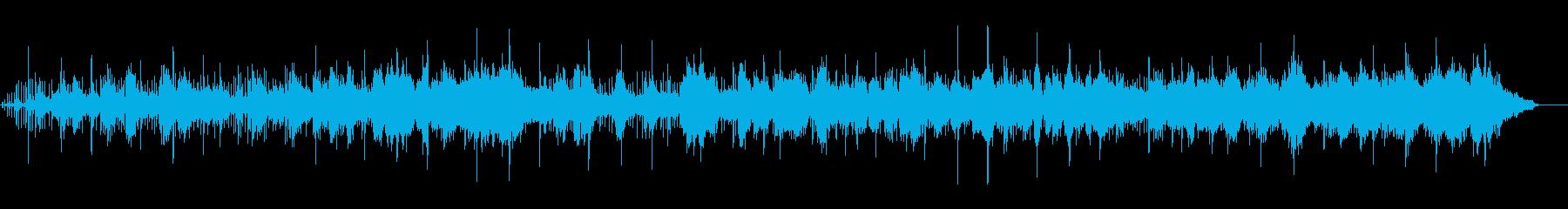 ニューエイジ系、ネイチャー、ヒーリングの再生済みの波形