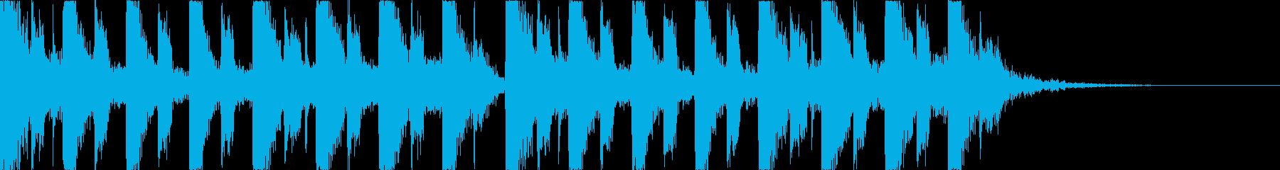 キャッチーで深みのあるEDM3の再生済みの波形