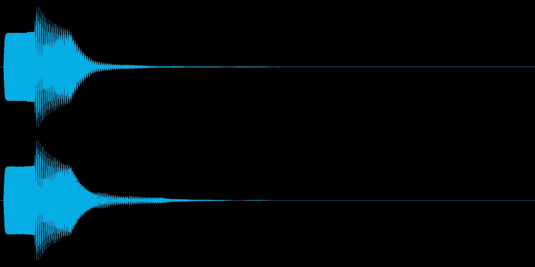 ピコン(キャンセル,終了,停止)_02の再生済みの波形
