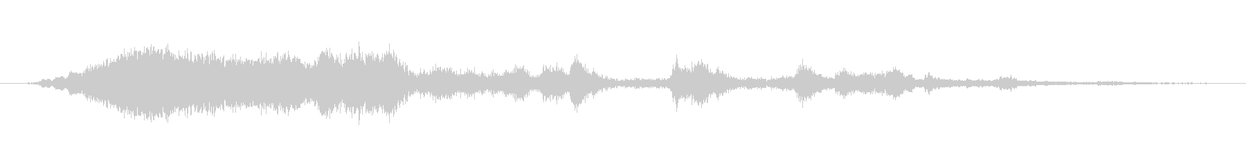 摩擦金属、低音-アグレッシブの未再生の波形