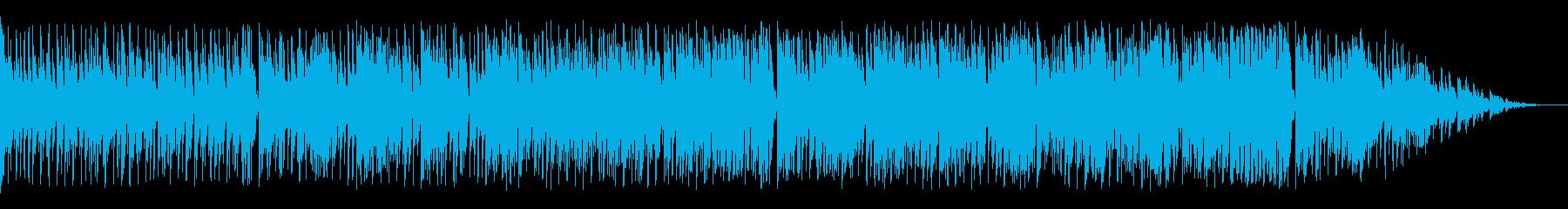 はつらつとした明るいラテン楽器の再生済みの波形