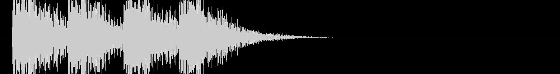 オーケストラヒット 緊迫感 80年代の未再生の波形