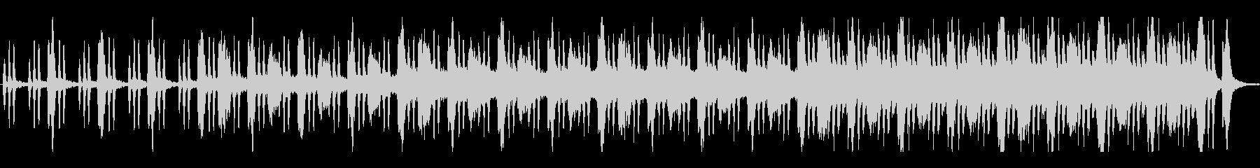 鬱蒼とした空気の不気味なBGMの未再生の波形