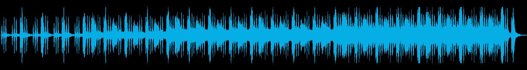 鬱蒼とした空気の不気味なBGMの再生済みの波形