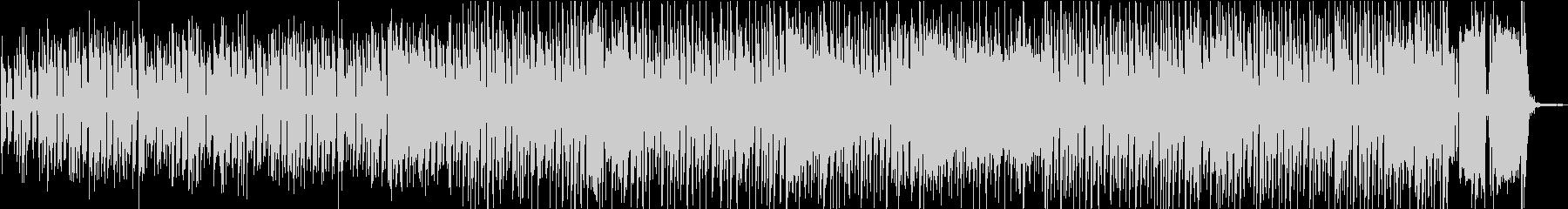 コミカルでレトロ感のあるトランペットの未再生の波形