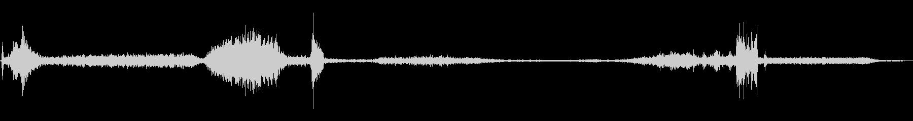 1971シェビーカプリ:スタート、...の未再生の波形
