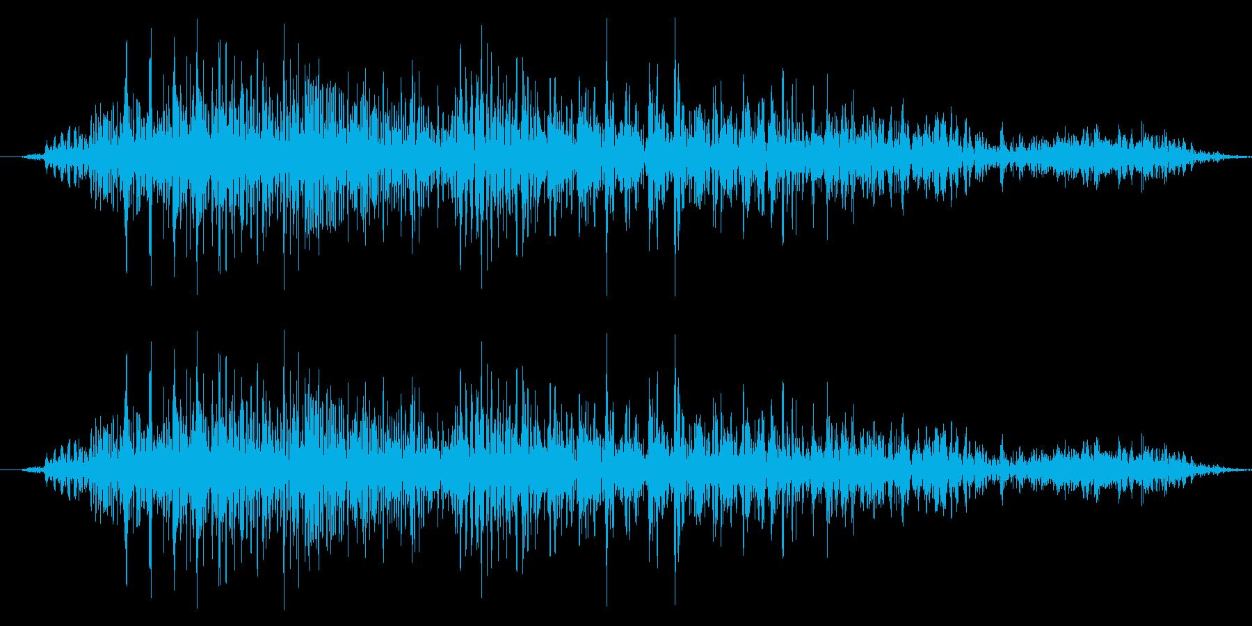 ドラゴン モンスター キャラタップ 困惑の再生済みの波形