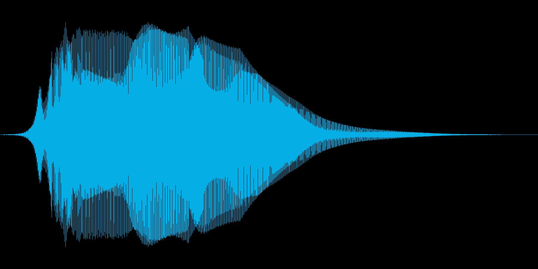 猫の鳴き声 5 可愛い子猫 みゃ~おの再生済みの波形