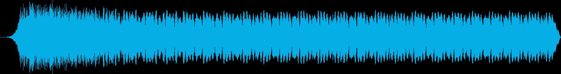 シューという高音の叫び声、スペース...の再生済みの波形