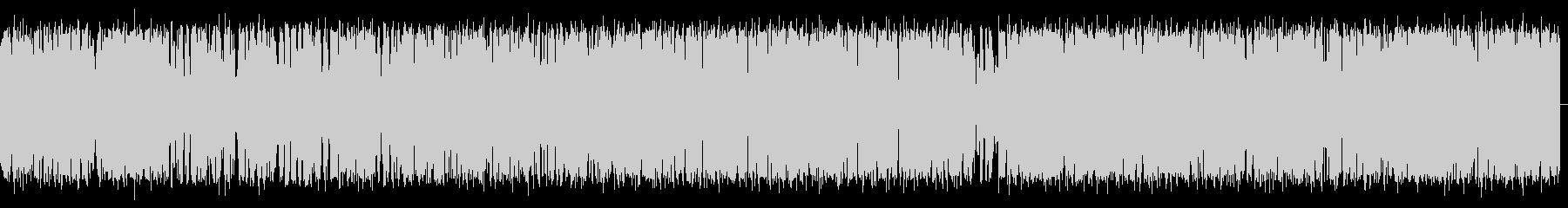 小型クルーズ船の風切り音の未再生の波形