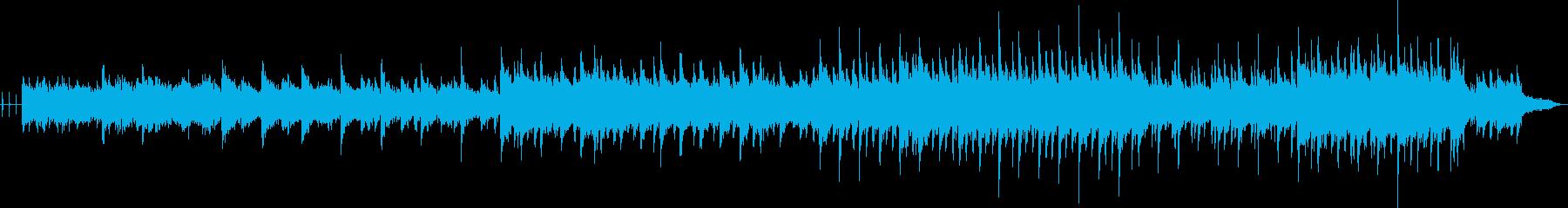 壮大な景色のBGM向きの不思議な曲の再生済みの波形