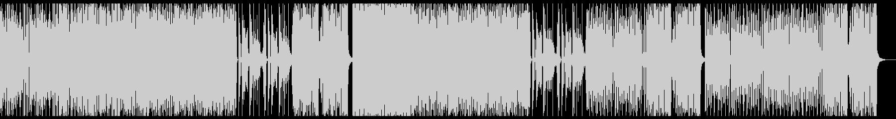 4つ打ち かわいい テクノポップの未再生の波形