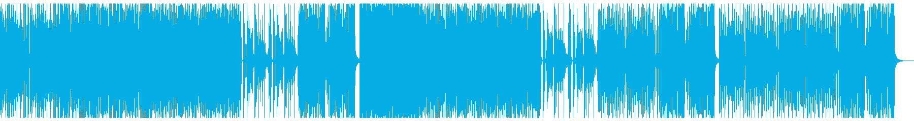 4つ打ち かわいい テクノポップの再生済みの波形