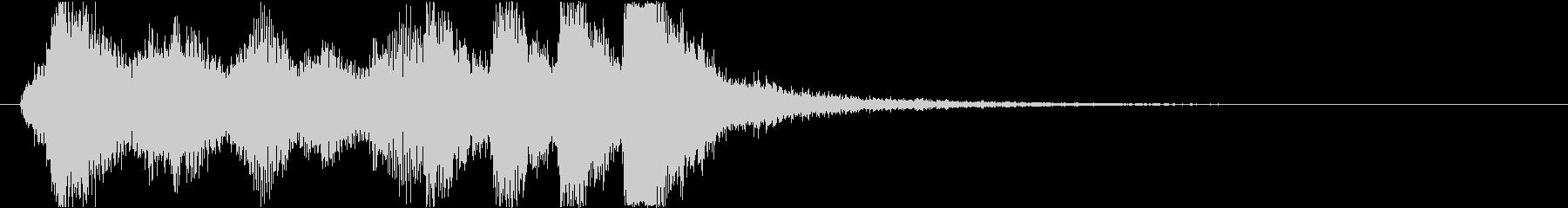 06 ファンファーレホルン トランペットの未再生の波形