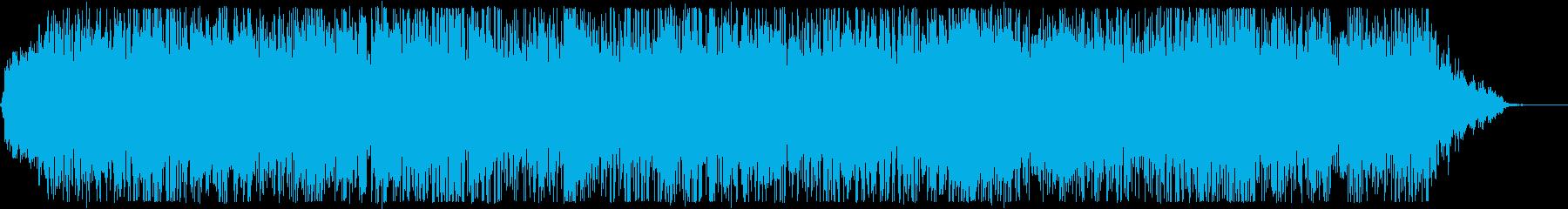 ホラーで不気味にカラコロ鳴るオルゴールの再生済みの波形