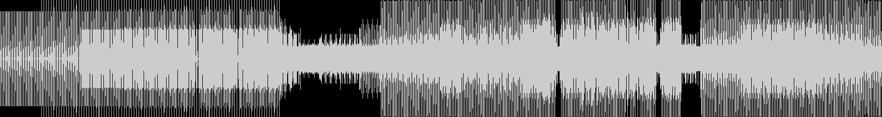 電子。非常に進歩的なリズミカルな要...の未再生の波形