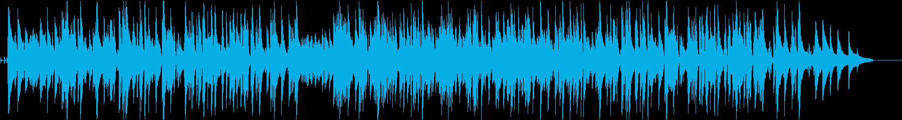 不思議かわいいジャズの再生済みの波形