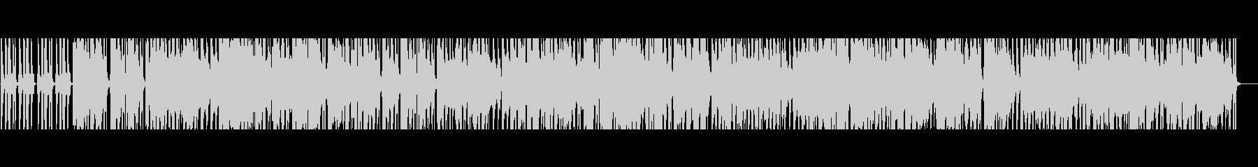 大人な雰囲気のジャジーヒップホップの未再生の波形