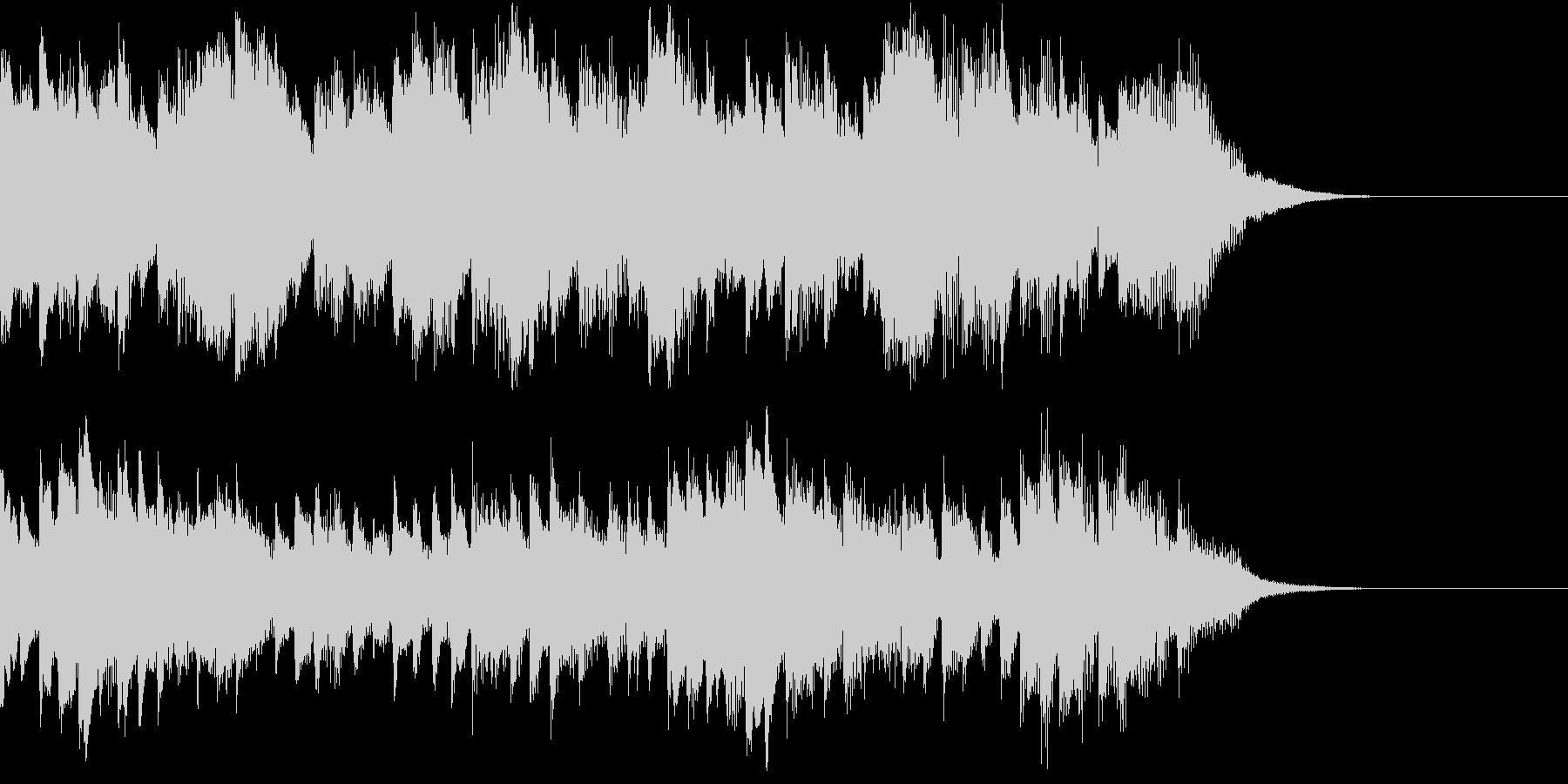過去を思い返す柔らかいピアノインストの未再生の波形