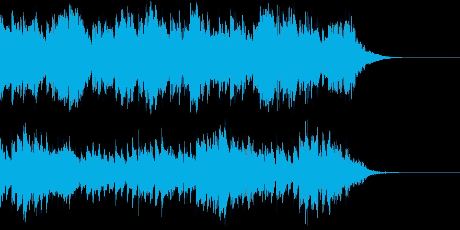 過去を思い返す柔らかいピアノインストの再生済みの波形