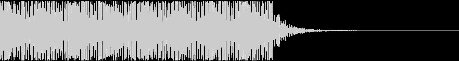 【EDM】約20秒、ジングル4の未再生の波形