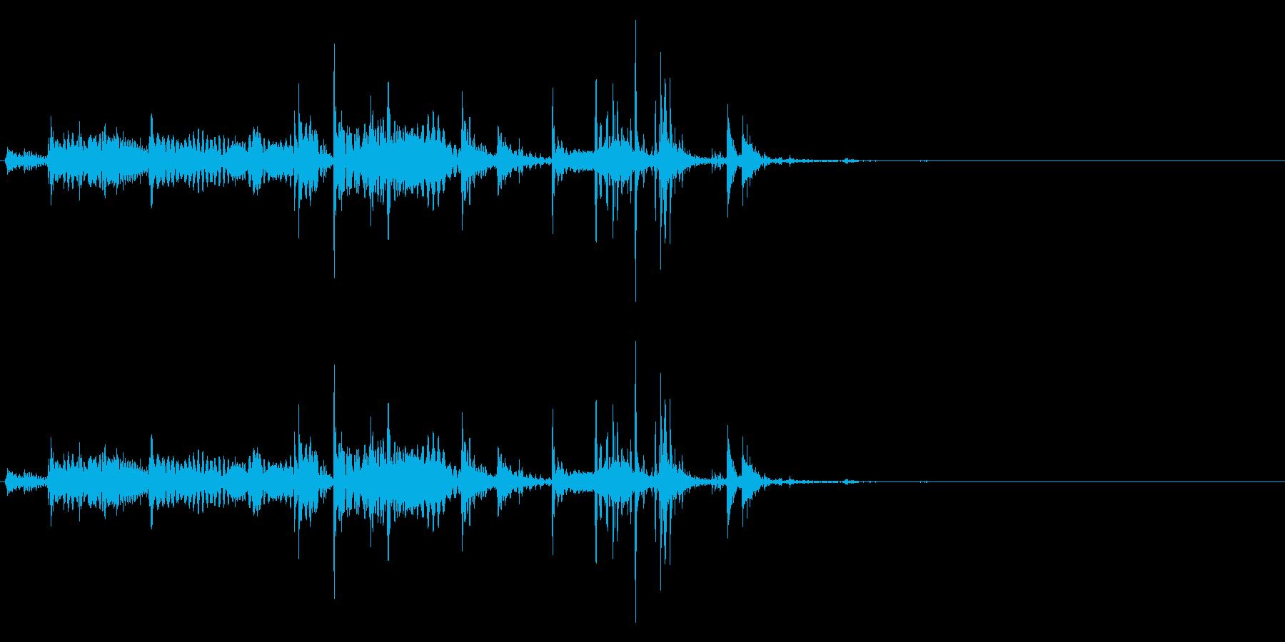 GameFX ゲーム内 お金獲得音 1の再生済みの波形