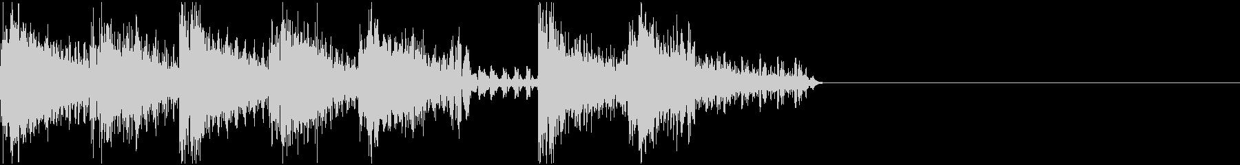 ファミコン・ゲーム風  ジングル2の未再生の波形