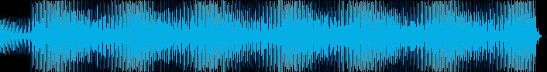 ピアノが跳ねたかわいいBGMの再生済みの波形
