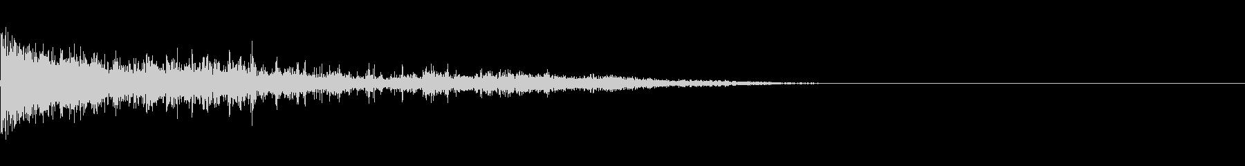 カミナリ(近雷)-12の未再生の波形
