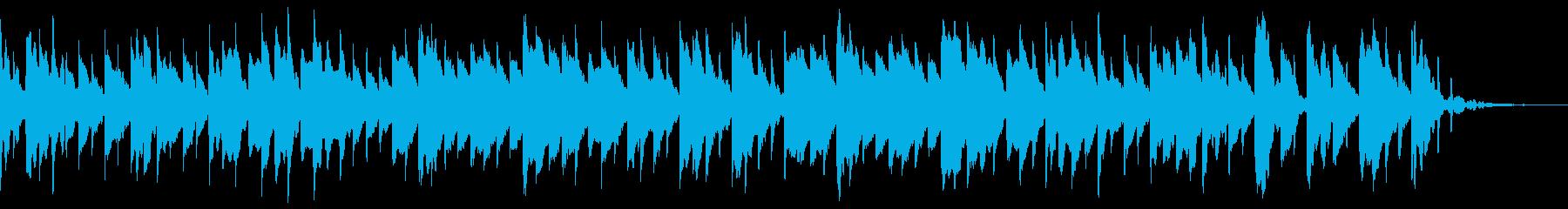 童謡のさくらの再生済みの波形