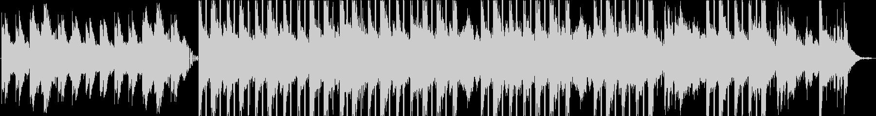 不思議な雰囲気のピアノのBGMの未再生の波形