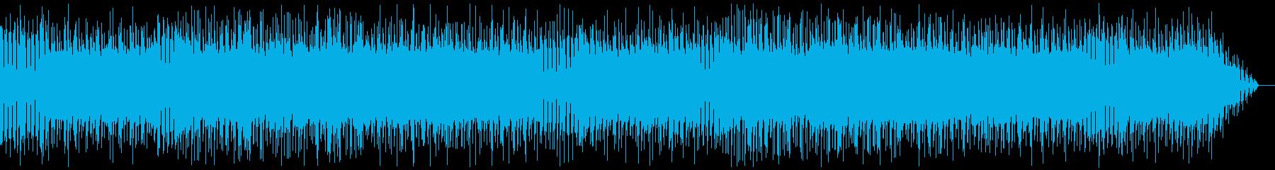 メタルとストリングス用いた戦闘系BGMの再生済みの波形